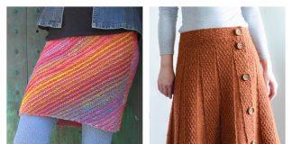 Easy Knit Women Skirt Free Knitting Patterns