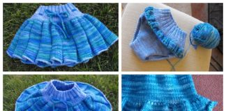 Knit Baby Skirty Soaker Free Knitting Patterns