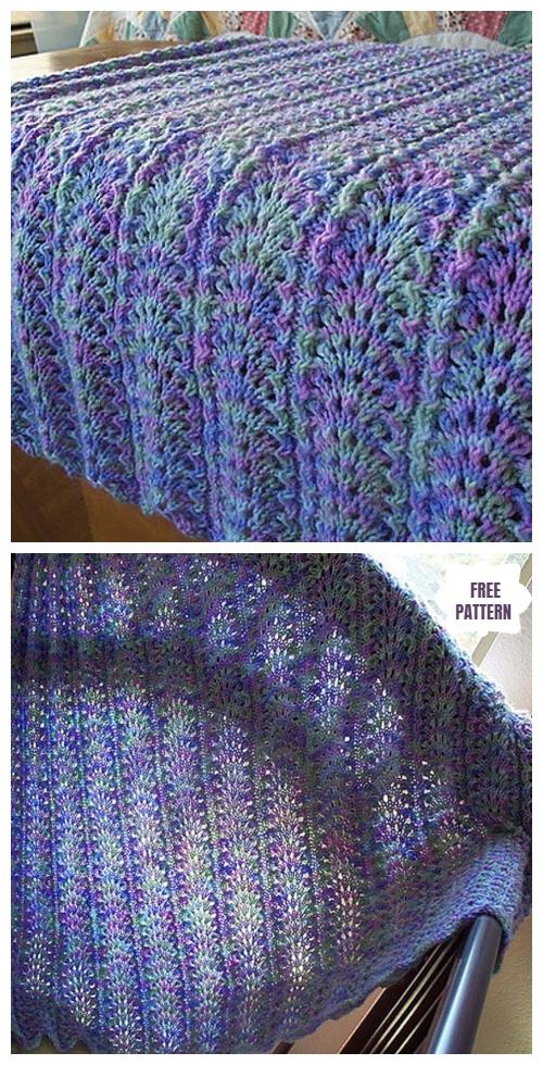 Knit Elegantly Simple Baby Blanket Free Knitting Pattern
