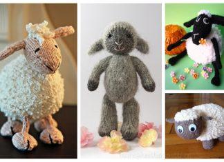 Knit Toy Lamb Free Knitting Patterns