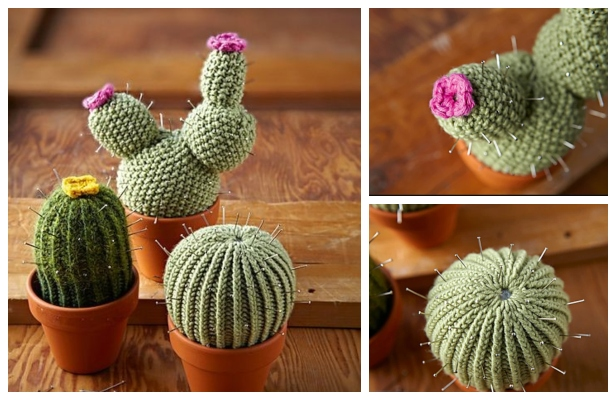 Knit Woolly Cacti Free Knitting Patterns