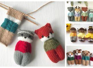 Knit One-Piece Izzy Buddy Dolls Toy Knitting Patterns