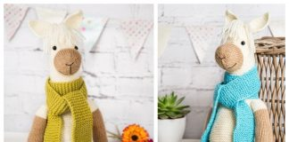 Toy Alpaca Free Knitting Patterns