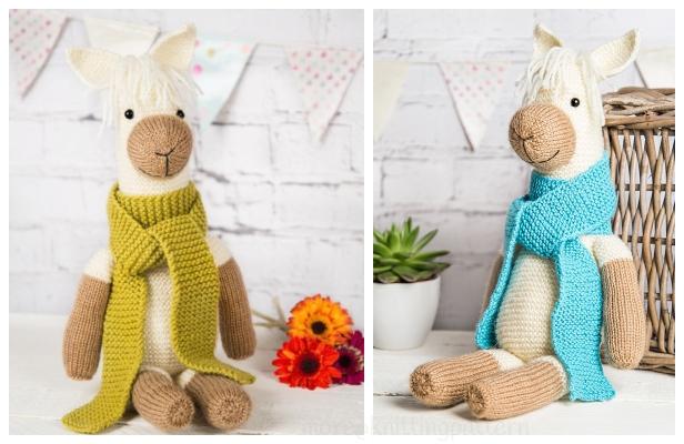 Toy Alpaca Free Knitting Patterns