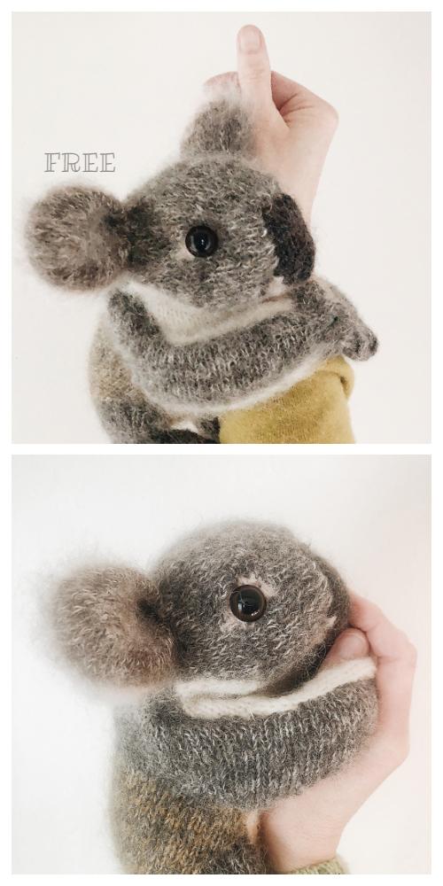 Knit Toy Koala Amigurumi Free Knitting Patterns