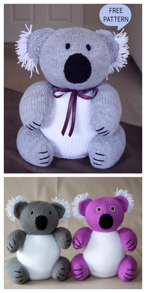 Amigurumi Koala Bear - A Free Crochet Pattern - Grace and Yarn | 1000x500