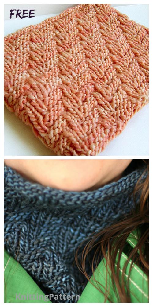 Knit Darkside Cowl Free Knitting Pattern