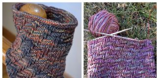 Knit Darkside Cowl Free Knitting Pattern