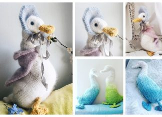 Easy Knit Toy Duck Free Knitting Patterns