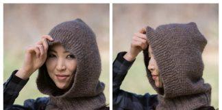 Easy Knit Hooded Neckwarmer Free Knitting Pattern