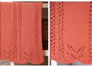 Knit Lace Edged Hand Towel Free Knitting Pattern