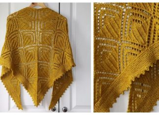 Knit Rumpelstiltskin Lace Shawl Free Knitting Pattern