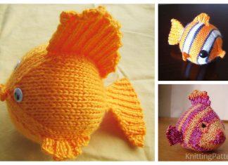 Knit Toy Fish Free Knitting Patterns
