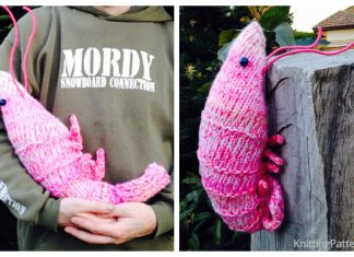 Knit Toy Shrimp Free Knitting Patterns