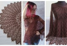 Knit Ice Cream Lace Shawl Free Knitting Patterns