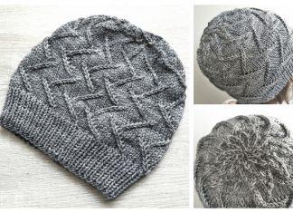 Knit Irma Beanie Hat Free Knitting Pattern