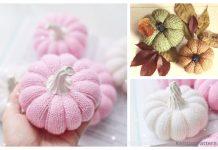 Autumn Knit Pumpkins Free Knitting Patterns