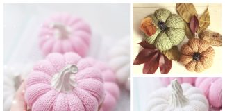 Autumn Knit Pumpkins Free Knitting Patterns