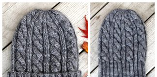 Jason's Cashmere Cable Hat Free Knitting Pattern