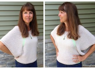Knit Indian Summer Top Free Knitting Pattern