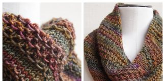 Knit That Nice Stitch Cowl Free Knitting Pattern