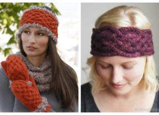 Knit Women Celtic Headband Free Knitting Patterns