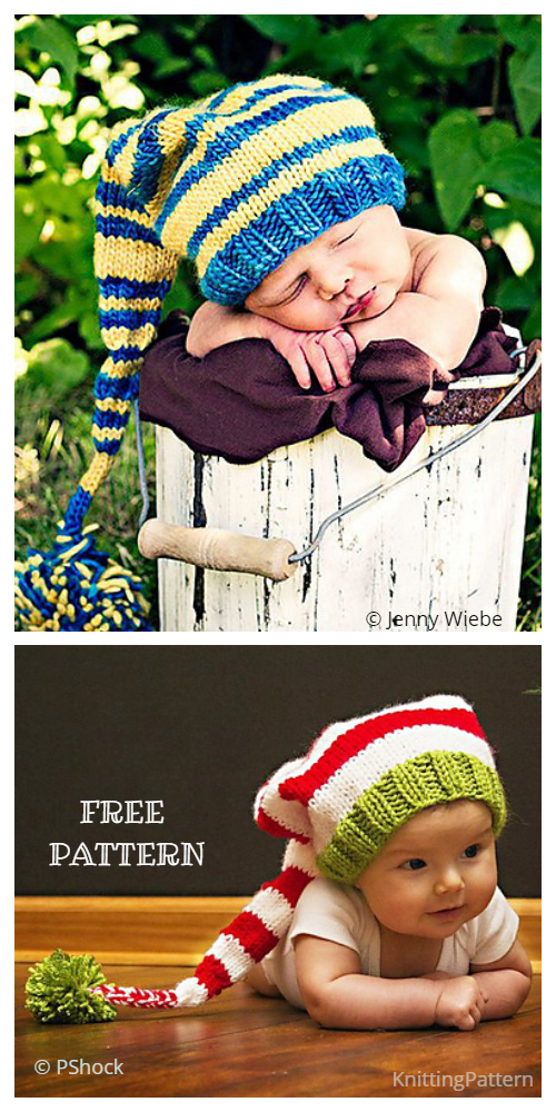 Knit Christmas The Duketer Stocking Cap Free Knitting Patterns