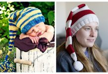 Knit Christmas Stocking Cap Free Knitting Patterns