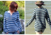 Knit Driftwood Pullover Sweater Free Knitting Pattern