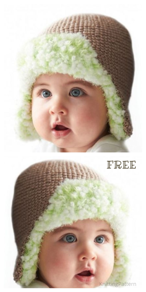 Knit Trapper Earflap Hat Free Knitting Pattern + Video ...