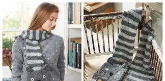 Knit Cat Scarf Free Knitting Patterns