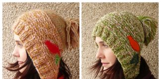 Knit Capucine Hat Free Knitting Pattern