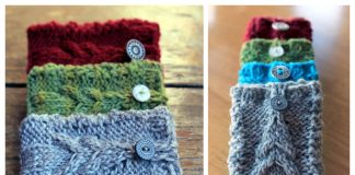 Knit Christmas Gift Card Holder Free Knitting Patterns