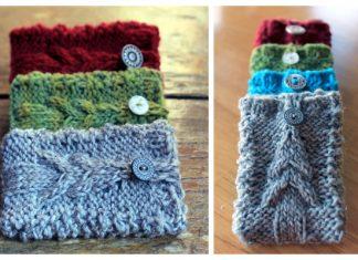 Knit Christmas Gift Card Holder Free Knitting Patterns