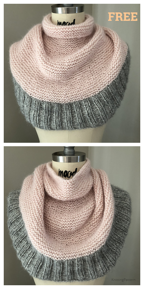 Knit Getting Warmer Cowl Free Knitting Pattern