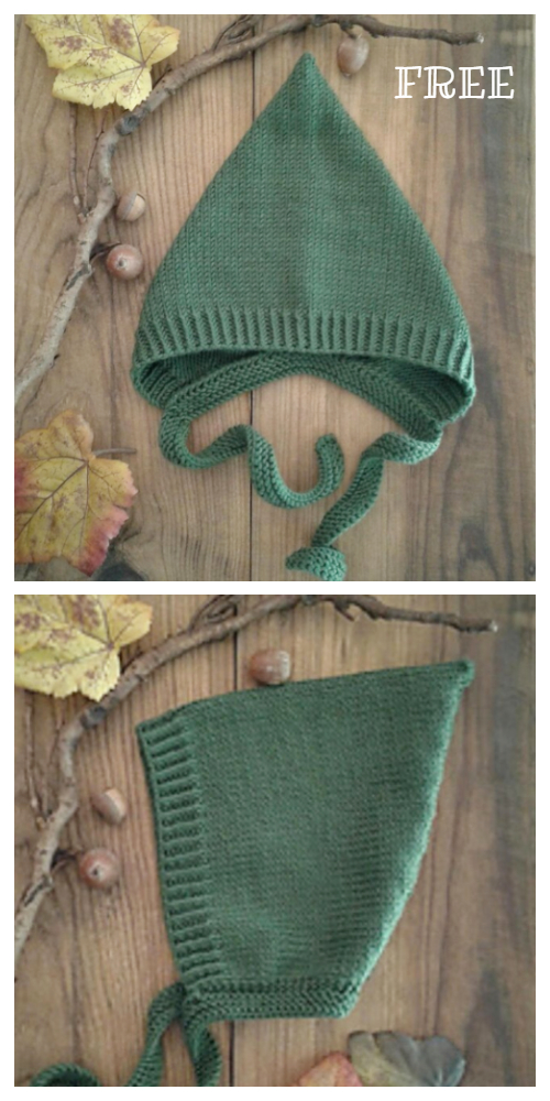 Knit Dixie Pixie Hat Free Knitting Pattern