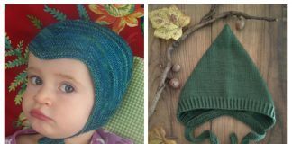 Knit Pixie Hat Free Knitting Pattern