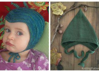 Knit Pixie Hat Free Knitting Pattern