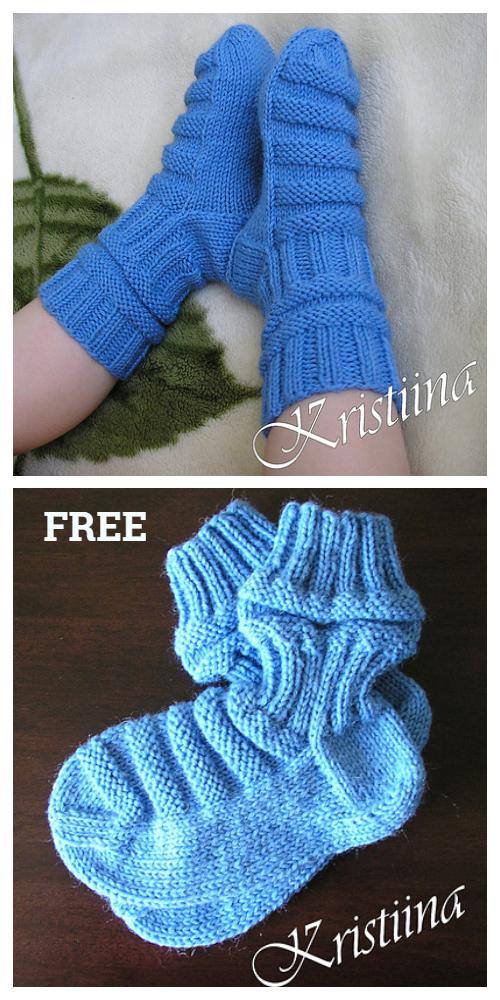 Knit Train Baby Socks Free Knitting Pattern