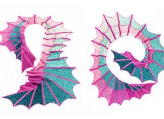 Knit Wing Scarf Free Knitting Pattern