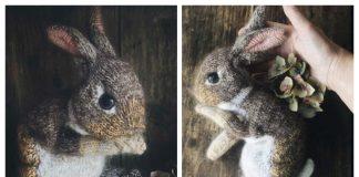 Amigurumi Easter Bunny Free Knitting Pattern