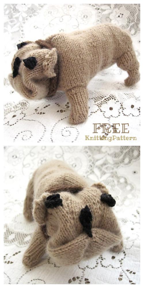 Belle the Boston Terrier amigurumi pattern - Amigurumipatterns.net | 1000x500