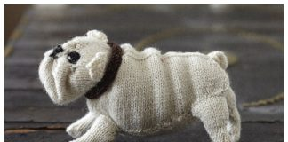Amigurumi English Bulldog Free Knitting Pattern