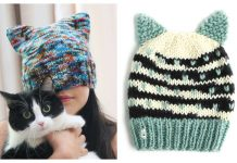Knit Cat Hat Free Knitting Patterns