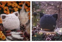 Knit Cat Hat Free Knitting Patterns