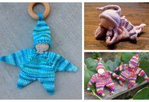 Knit Knubbelchen Doll Baby Lovey Free Knitting Patterns