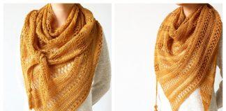 Knit Stormy Sky Shawl Free Knitting Pattern
