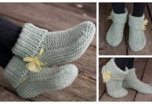 Knit Nola's Slippers Free Knitting Pattern