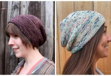 Simple Knit Rikke Hat Free Knitting Pattern