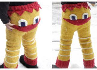 Knit Kids Easter Chicken Pants Free Knitting Pattern